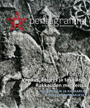 Pentagrammi 1-2018 Vapaus, veljeys ja tasa-arvo Rakkauden merkeissä
